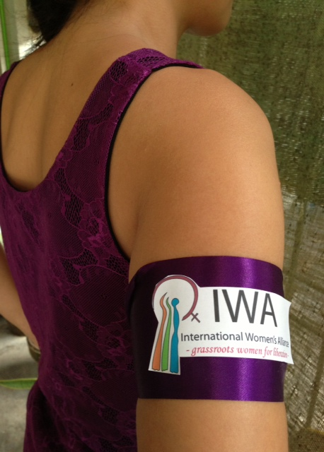 Commemmorate March 8: Wear a Purple Armband